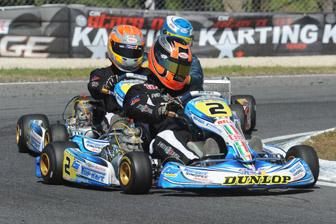 Patrizicorse team drivers Dan Currey and Hayden Patrizi