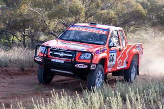 Craig Lowndes in his Holden Colarado