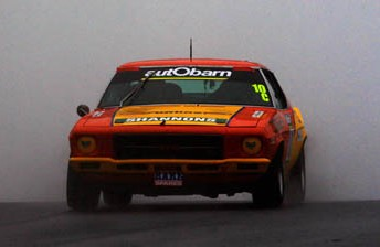 Jason Richards in his HQ Holden