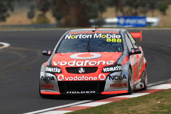 Craig Lowndes has moved into the championship lead