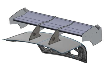Example A – The preferred end plate design