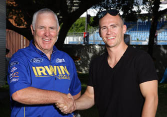 Ross Stone and Lee Holdsworth