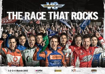 The 2012 Clipsal 500 promotional poster
