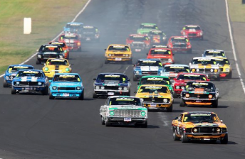 The Touring Car Masters pack at Eastern Creek