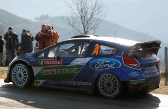 Currently sitting third in the Monte Carlo Rally, Ford's Petter Solberg is set to move up the Castrol EDGE Rankings