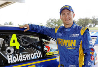 IRWIN Tools Racing's Lee Holdsworth