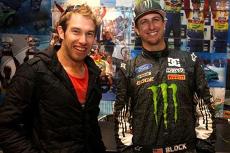 Chris Atkinson will return to the WRC with Ken Block's team
