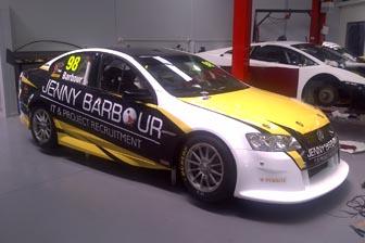 Elliot Barbour's Dunlop Series Commodore, prepared by Minda Motorsport