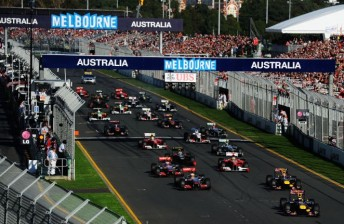 The 2011 AGP at Albert Park