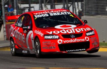 Jamie Whincup will start Race 2 from pole