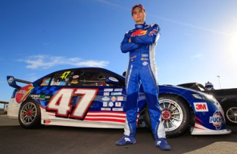 Tim Slade with his new-look Lucky 7 Racing Ford Falcon