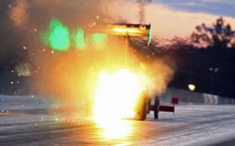 Phil Read is quickest in Top Fuel, but his second qualifier wasn't without drama!