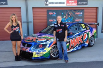 Jacques Villeneuve's Pepsi Max Crew Commodore VE