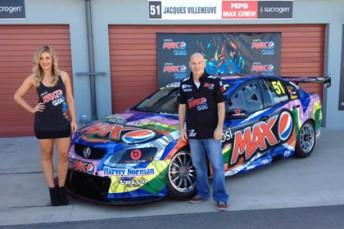 Jacques Villeneuve's Pepsi Max Crew Commodore VE