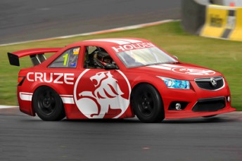 An rendering of the Holden Cruze Aussie Racing Car