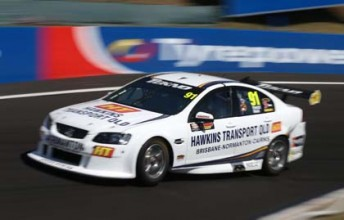 Michael Patrizi at Mount Panorama