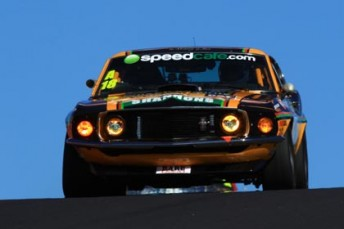 John Bowe is in the box seat to win his second Touring Car Masters crown