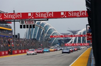 The Carrera Cup Asia field in Singapore this year