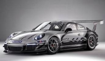 The front of the new Porsche 911 GT3 Cup
