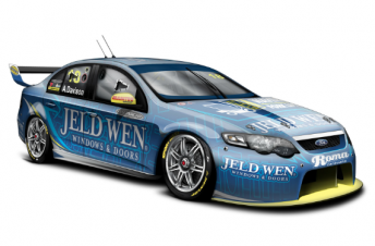 Alex Davison's #18 Team Jeld-Wen Ford Falcon