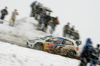 Sebastien Ogier completing shakedown ahead of the Monte Carlo