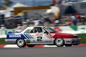 Mark Skaife will drive the 1990 Nissan Skyline HR 31