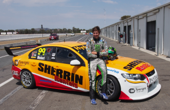 Chaz Mostert with his 2013 Dunlop Series ride