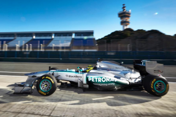 The new Mercedes W04