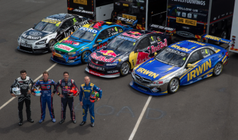 Nissan, Ford, Holden and Mercedes-Benz will compete in this year's V8 Supercars Championship