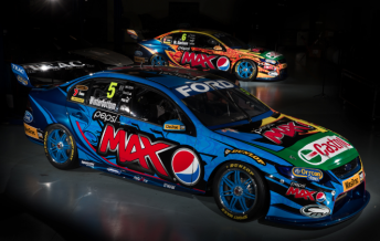 The Pepsi Max Crew FPR Ford Falcons of Mark Winterbottom and Will Davison
