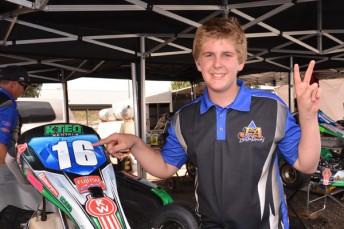 Nicholas Rowe racing