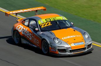 Nick Percat's Coates Hire Porsche