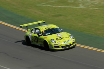 Craig Baird has struck back in Race #2 of the Carrera Cup