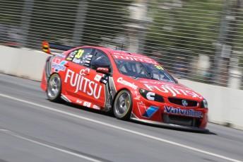 Fujitsu Racing's Scott McLaughlin