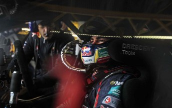 Craig Lowndes and Jeromy Moore