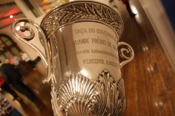 The first ever Macau Grand Prix trophy