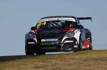Tony Bates fastest in Carrera Cup race 2