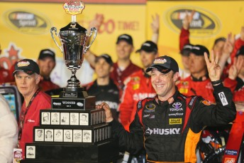 Kenseth has scored his third win of the year with victory at Darlington