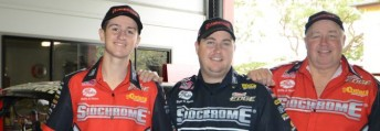 Three of the four Brays that will race at the Winternationals