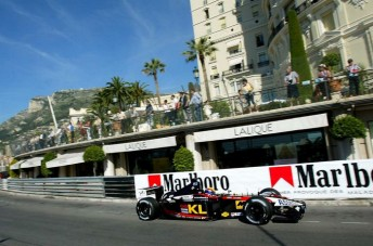 Webber's junior formulae love affair with Monaco transferred to F1
