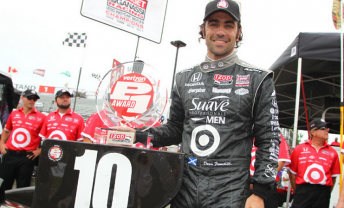 Dario Franchitti nabs pole but will start from 11th