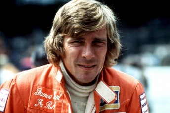 James Hunt. Pic: The Times