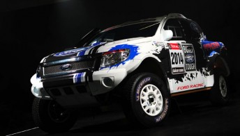 Ford's Dakar challenger will be powered by its Coyote V8