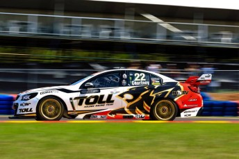 The HRT took a pole position last time out in Darwin thanks to James Courtney