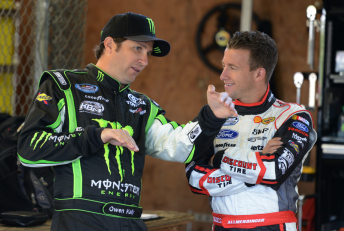 Kelly compares notes with Allmendinger