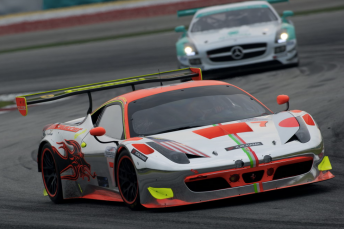 Craig Baird on his way to winning the Sepang 12 Hour