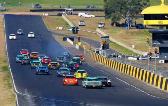 The TCM field at Sydney Motorsport Park
