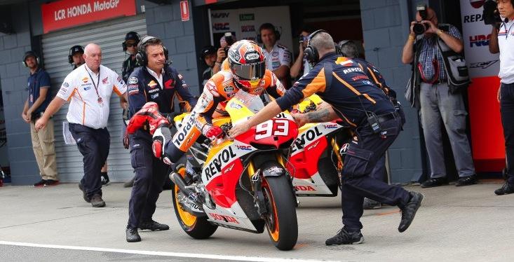 Safety concerns call for mandatory bike swap in MotoGP race - Speedcafe