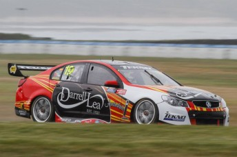 Jonathon Webb in action at Phillip Island
