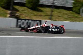 Hitachi extends arrangement with Team Penske iin 2014